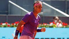 Así ha sido el punto ganador de Rafa Nadal ante Popyrin en el Mutua Madrid Open