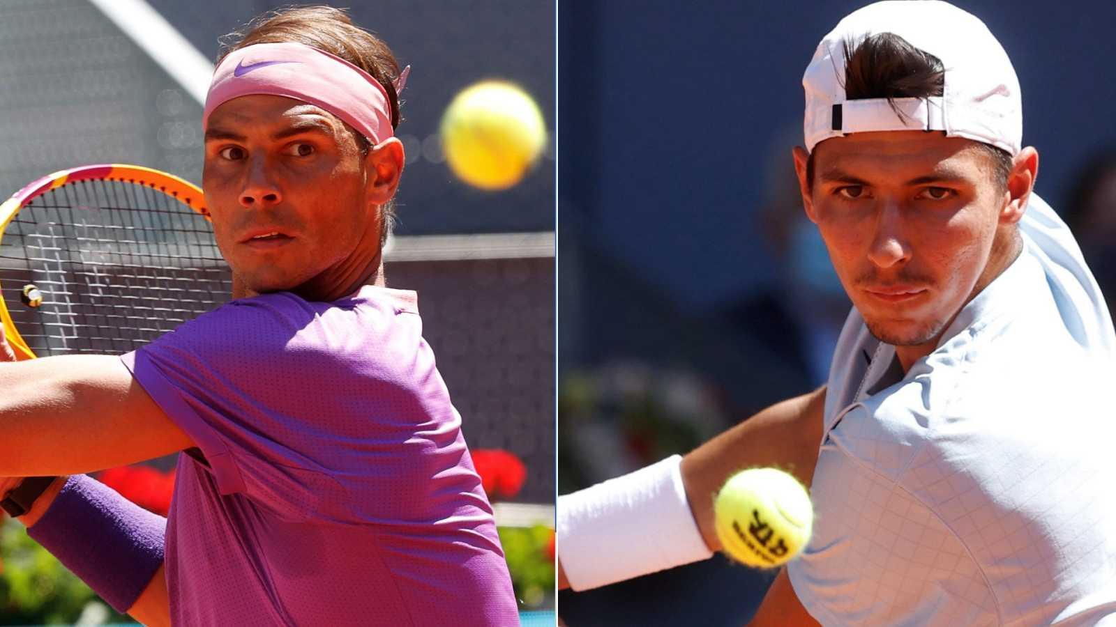 Tenis - ATP Mutua Madrid Open: Rafael Nadal - Alexei Popyrin - ver ahora