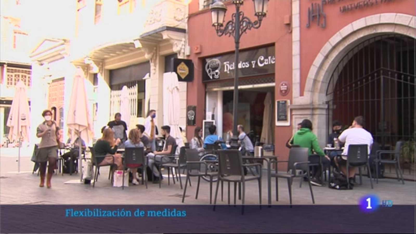 Se flexibilizan las medidas en Extremadura - 06/05/2021