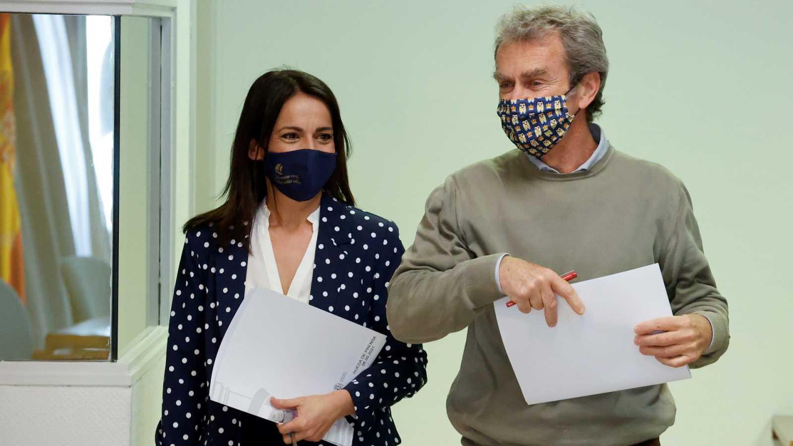 Especial informativo - Coronavirus. Comparecencia de Fernando Simón y Silvia Calzón - 06/05/21 - ver ahora