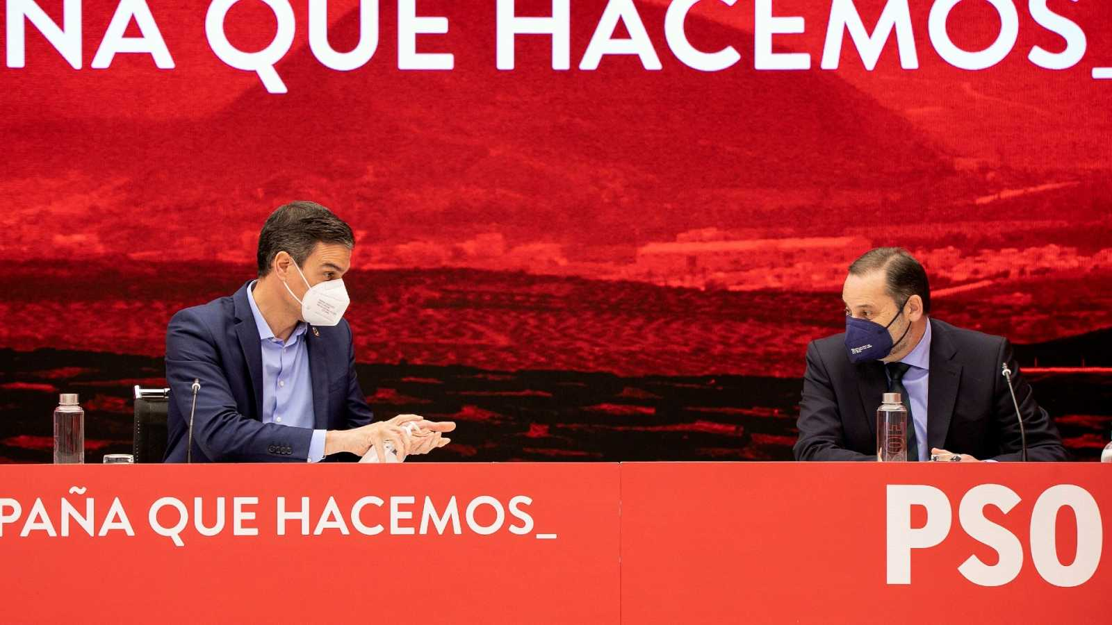 """Ábalos anuncia la convocatoria de primarias en Andalucía """"ante la posibilidad de que el PP fuerce un anticipo electoral"""""""