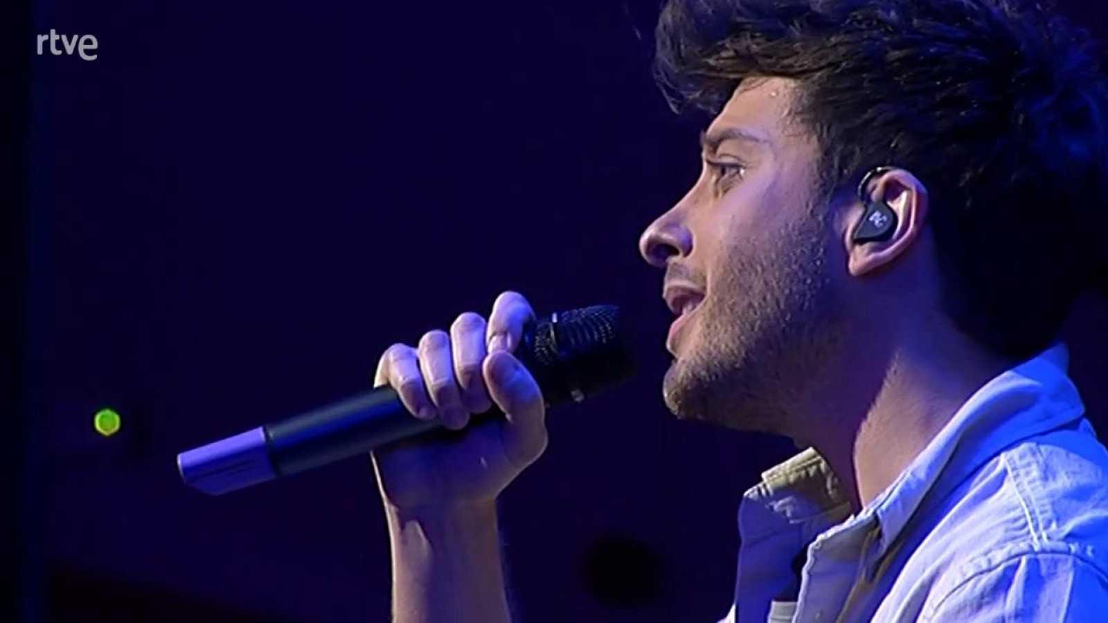 """Eurovisión 2021 - Blas Cantó interpreta """"I¿ll stay"""" al piano"""