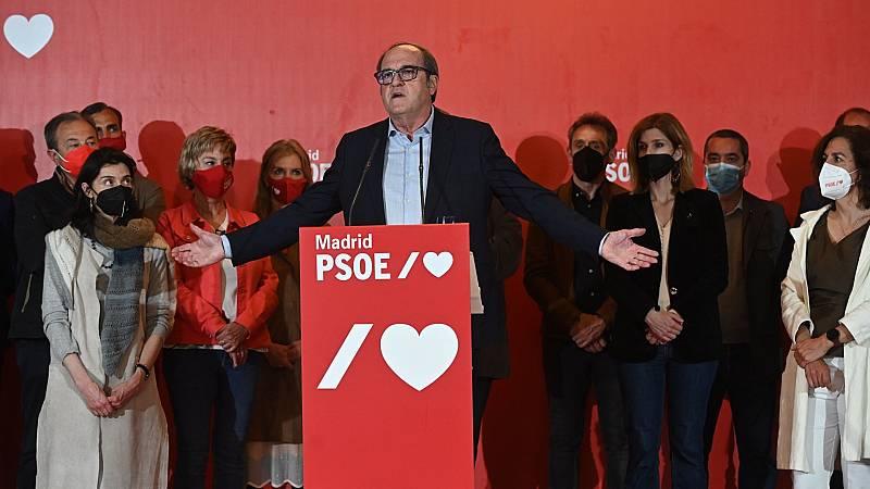 """El PSOE """"no pone paños calientes"""" tras su batacazo en Madrid pero avisa: """"Los resultados no condicionan al Gobierno"""""""