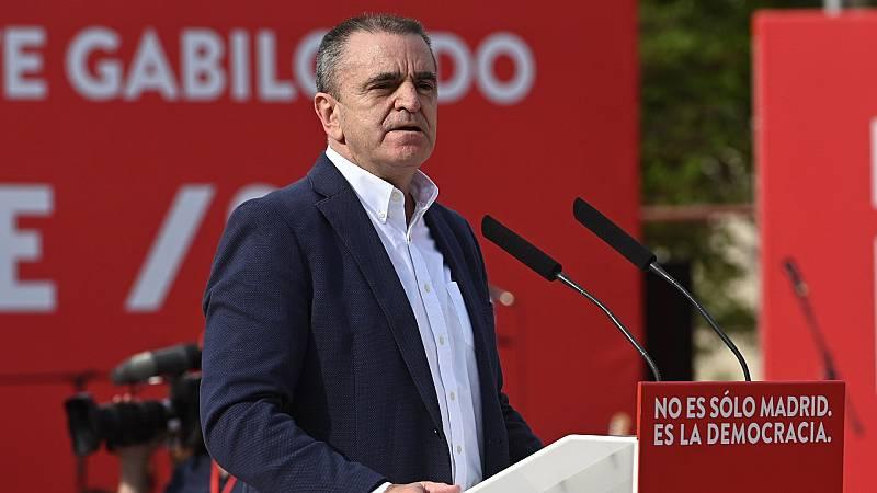 """El PSOE agradece a José Manuel Franco """"su lealtad, su compromiso y su trabajo"""""""