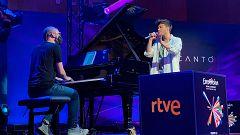 Eurovisión 2021 - Concierto acústico de Blas Cantó y rueda de prensa de despedida