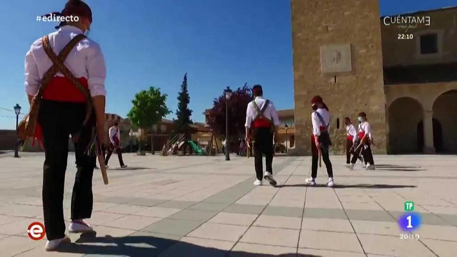 España Directo - Conocemos el paloteo, la danza tradicional de Segovia