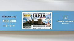 Sorteo de la Lotería Nacional del 06/05/2021