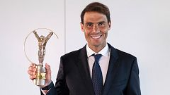Nadal, de nuevo premio Laureus al mejor deportista del año