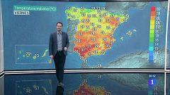 Ascenso de temperaturas en interior del noroeste y área mediterránea