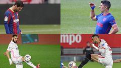 Barça - Atlético y Madrid - Sevilla, el doble duelo de la jornada 35