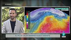 El Temps - Calor aquest divendres i dissabte, i canvis per diumenge