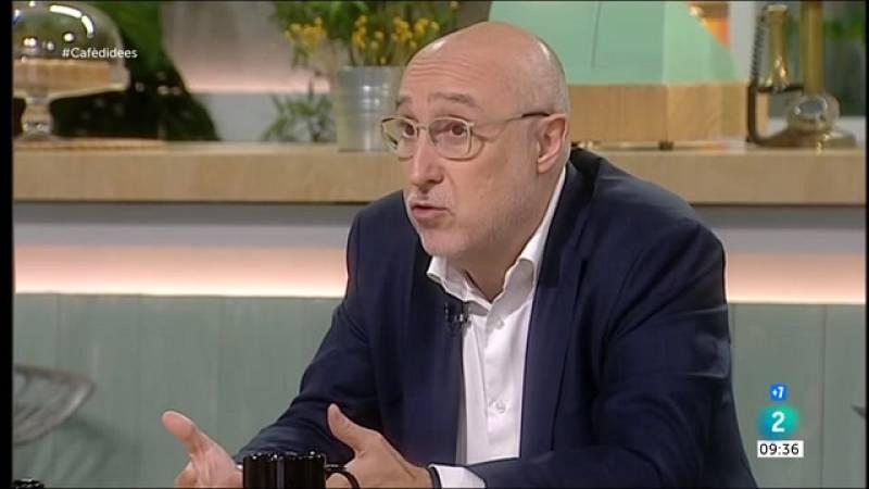 """Cafè d'idees - Josep M. Espinet: """"El sistema és molt garantista davant les ocupacions"""""""