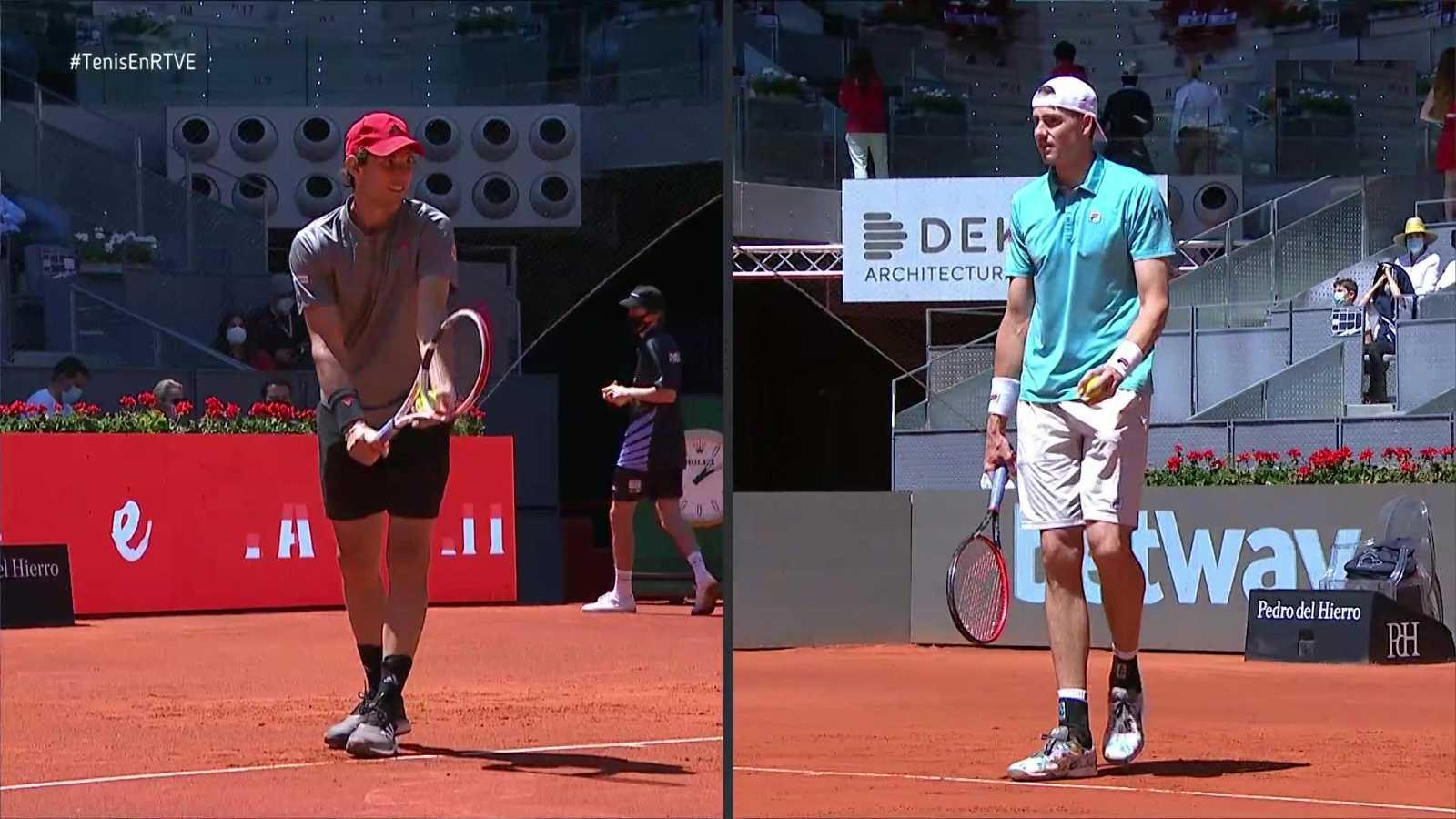 Tenis - ATP Mutua Madrid Open. 1/4 Final: Dominic Thiem - John Isner - ver ahora
