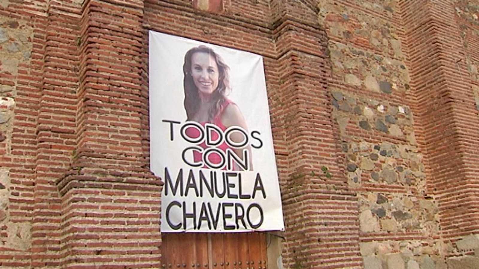Momentos de tensión en la reconstrucción del acusado de matar a Manuela Chavero
