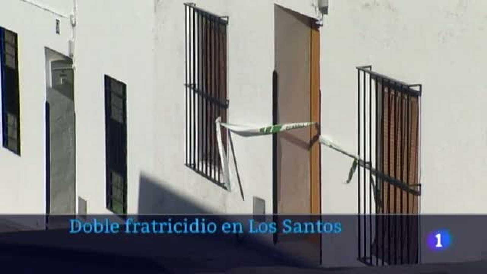 Doble fratricidio en Los Santos de Maimona - 07/05/2021