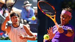 Tenis - ATP Mutua Madrid Open. 1/4 Final: Rafa Nadal - Alexander Zverev