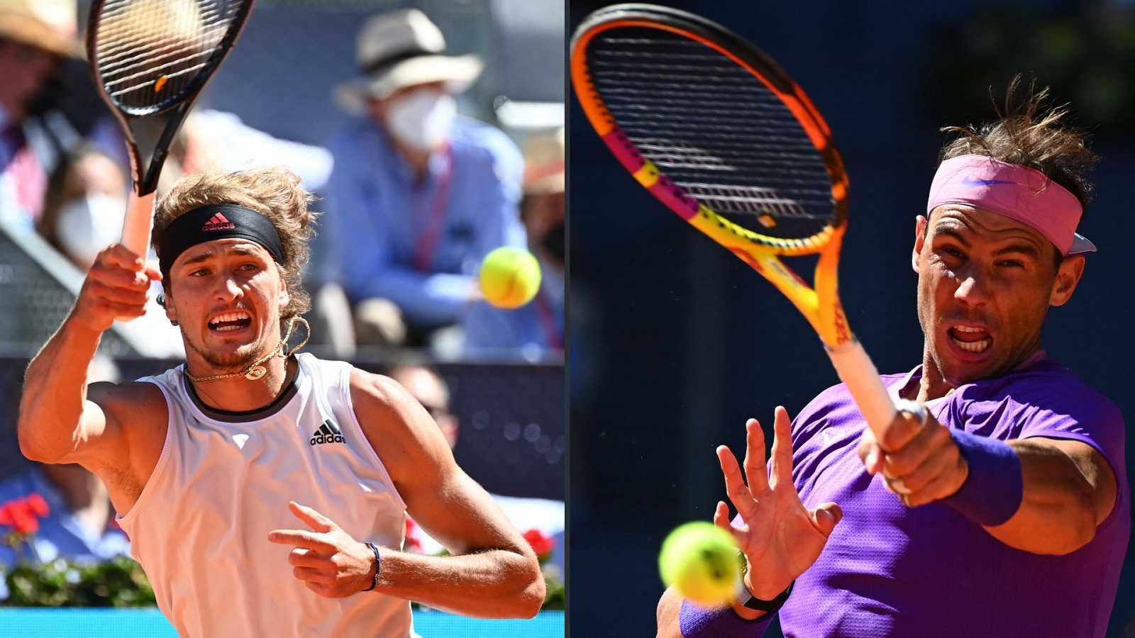 Tenis - ATP Mutua Madrid Open. 1/4 Final: Rafa Nadal - Alexander Zverev - ver ahora
