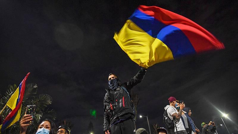 """Una periodista colombiana sobre las protestas en su país: """"Es un cóctel de situaciones que ha ido creciendo"""""""