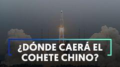 Pendientes del cielo: incertidumbre mundial ante la caída del cohete chino