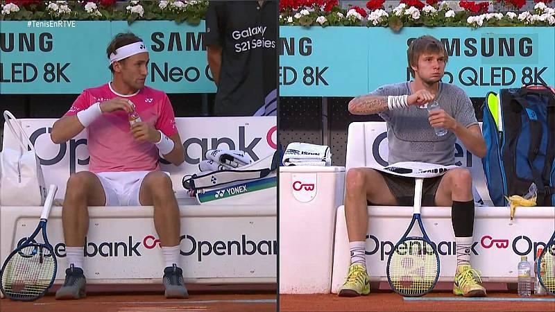 Tenis - ATP Mutua Madrid Open. 1/4 Final: Aleksandr Bublik - Casper Ruud - ver ahora
