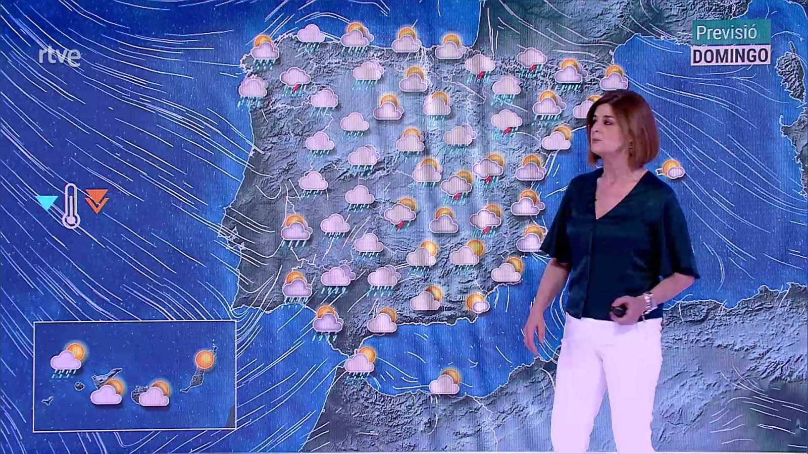 En gran parte del país predominará cielo poco nuboso o despejado - ver ahora