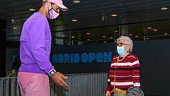 Manuela cumple su sueño con 95 años: conocer a Rafa Nadal