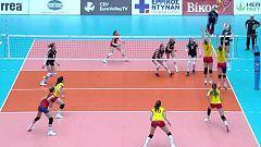 Voleibol - Clasificación Campeonato de Europa Femenino. 1ª jornada: Austria - España