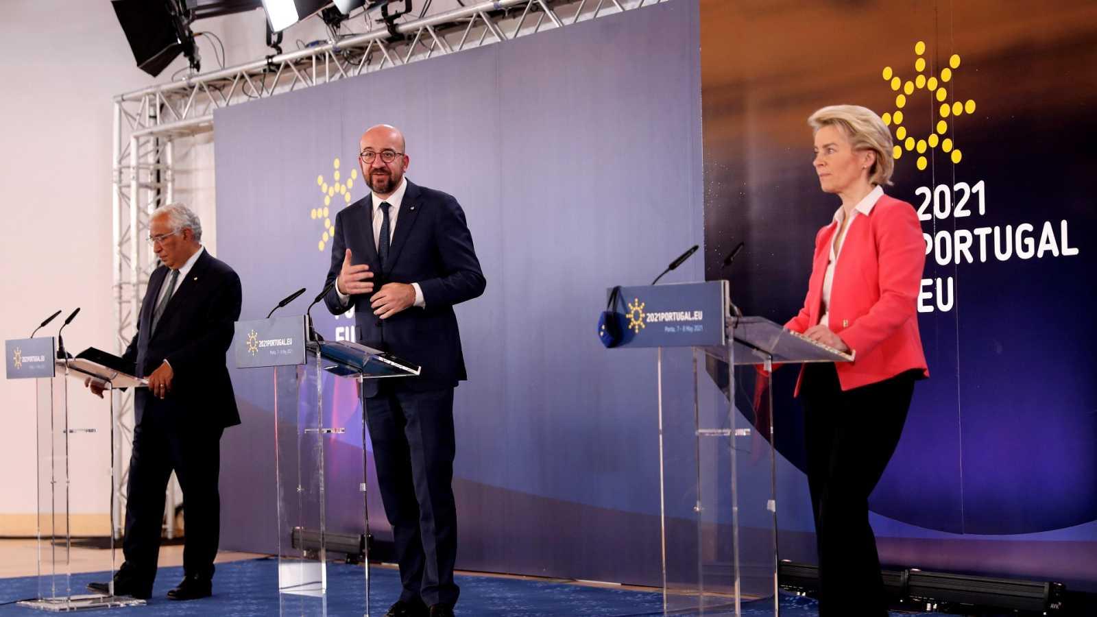El presidente del Consejo Europeo dice que liberar las patentes de las vacunas no es una solución a corto plazo