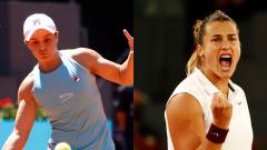 Barty y Sabalenka pelean por ser la nueva reina de Madrid