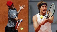 Tenis - ATP Mutua Madrid Open. 1ª Semifinal: Alexander Zverev - Dominic Thiem