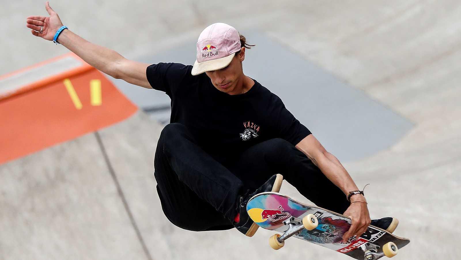 Danny Leon sueña con una medalla olímpica en skate