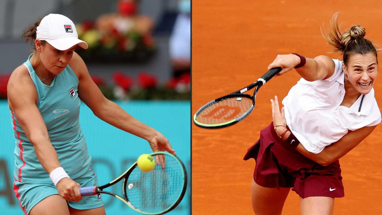 Tenis - WTA Mutua Madrid Open. Final: Ashleigh Barty - Aryna Sabalenka - ver ahora