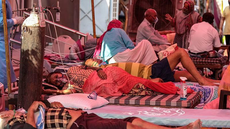 La situación epidemiológica en la India sigue siendo de extrema preocupación
