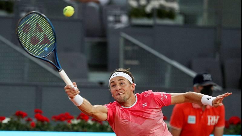 Tenis - ATP Mutua Madrid Open. 2ª Semifinal: Casper Ruud - Matteo Berrettini - ver ahora