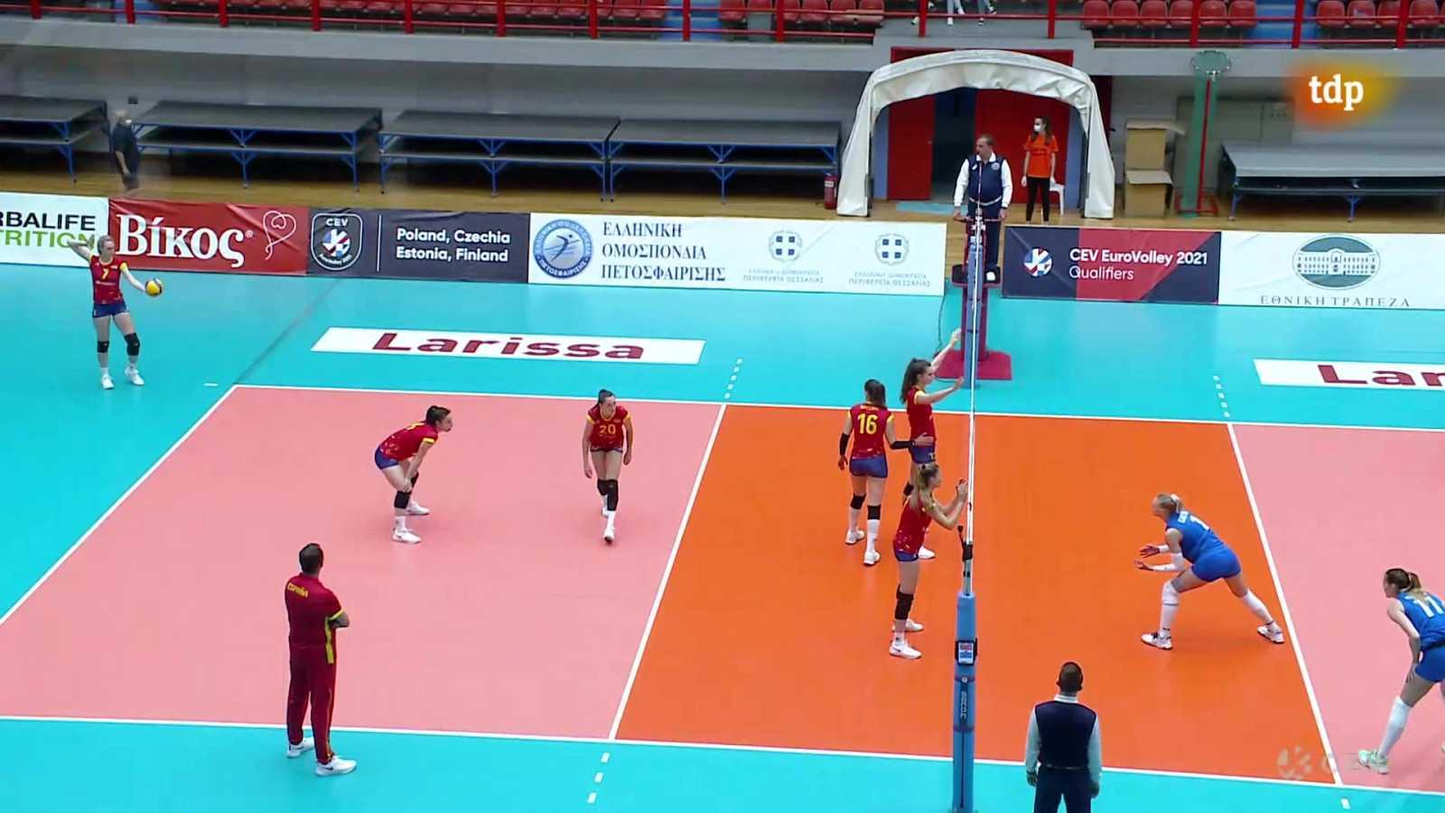 Voleibol - Clasificación Campeonato de Europa Femenino. 2ª jornada: España - Grecia - ver ahora
