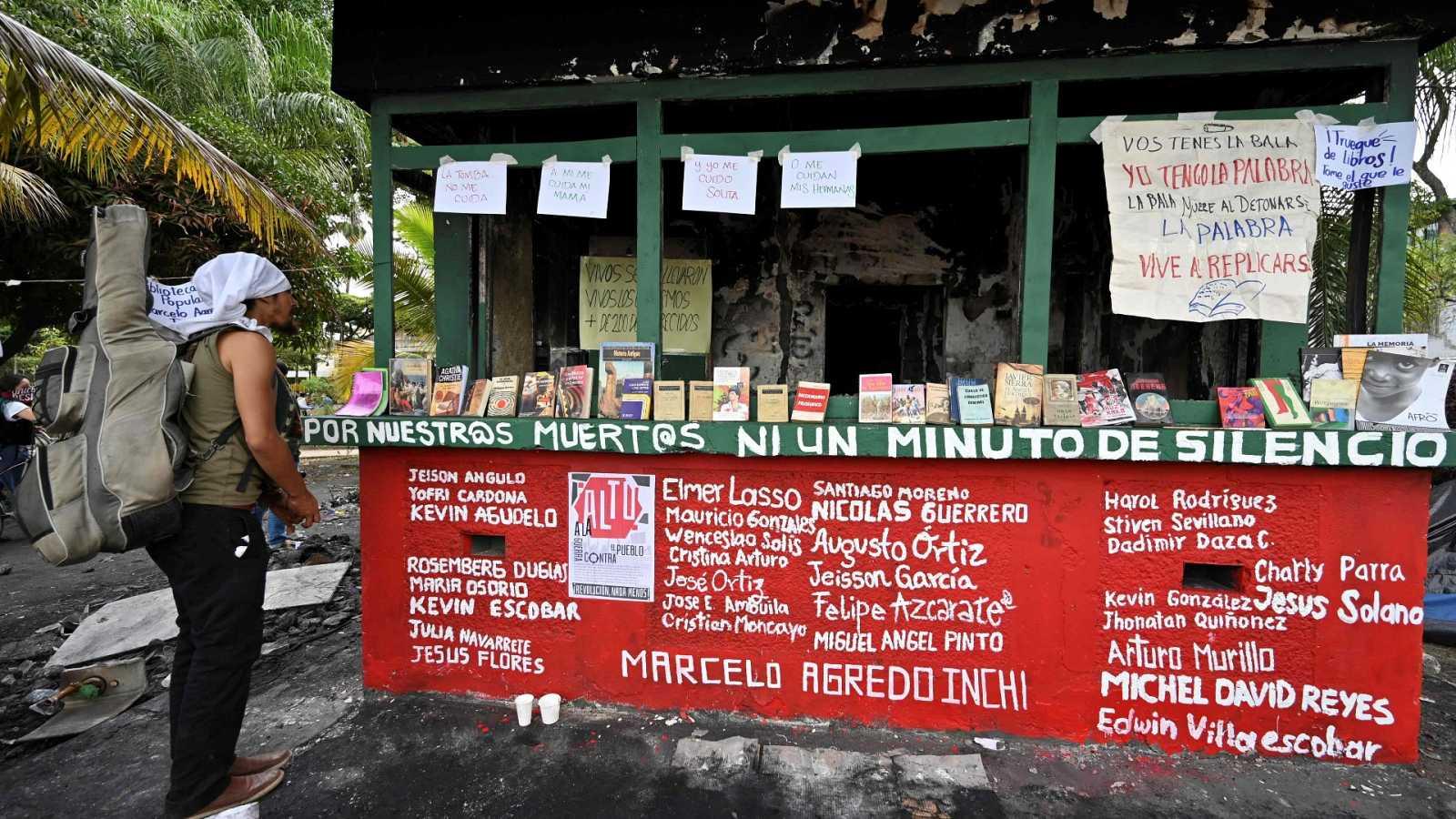 Las familias de los fallecidos en las protestas en Colombia denuncian violencia policial