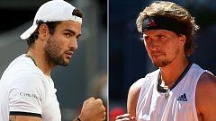 Berrettini y Zverev pugnan por el título en el Mutua Madrid Open