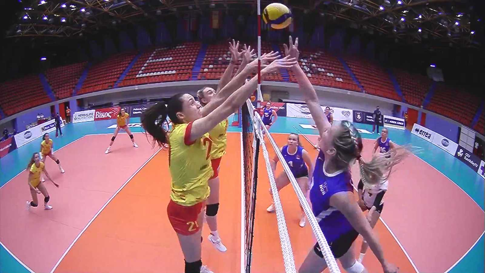 Voleibol - Clasificación Campeonato de Europa Femenino. 3ª jornada: Noruega - España - ver ahora