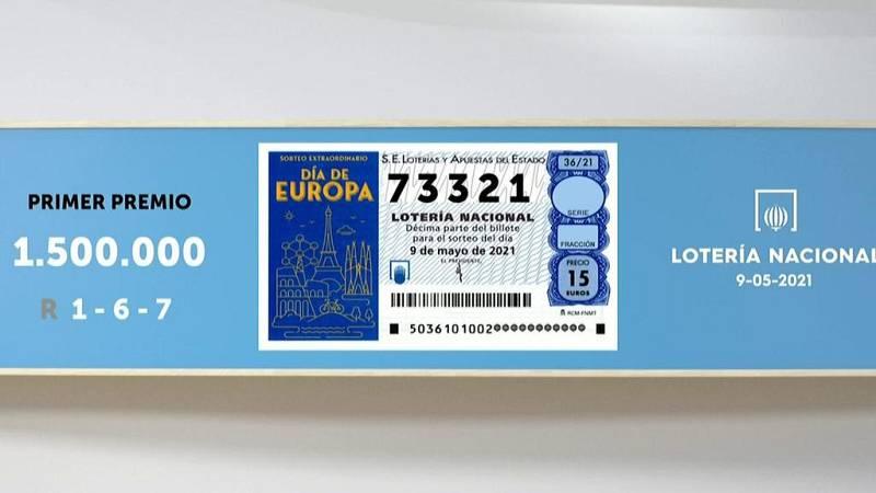 Sorteo de la Lotería Nacional del 09/05/2021 - Ver ahora