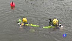 Segundo día de búsqueda en el río Ebro