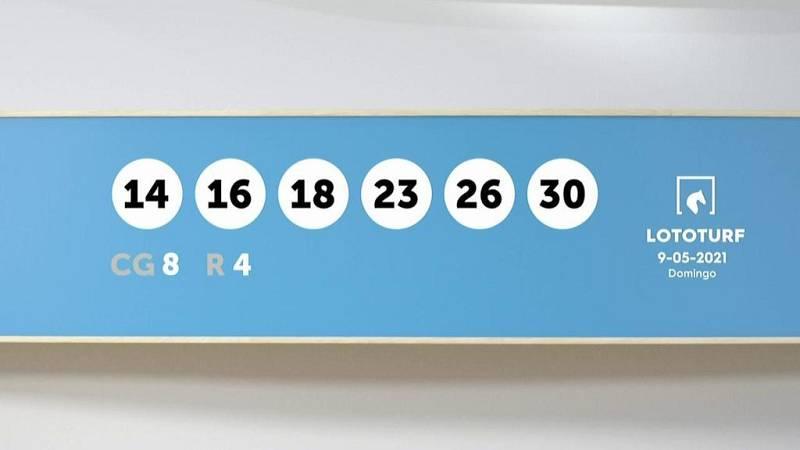 Sorteo de la Lotería Lototurf del 09/05/2021 - Ver ahora