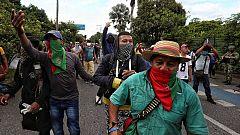 Nuevos incidentes en Cali tras choques entre civiles armados e indígenas