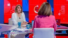 """Susana Díaz, sobre las primarias en Andalucía: """"Sé que no soy la candidata de Madrid, aspiro a ser la de los militantes"""""""