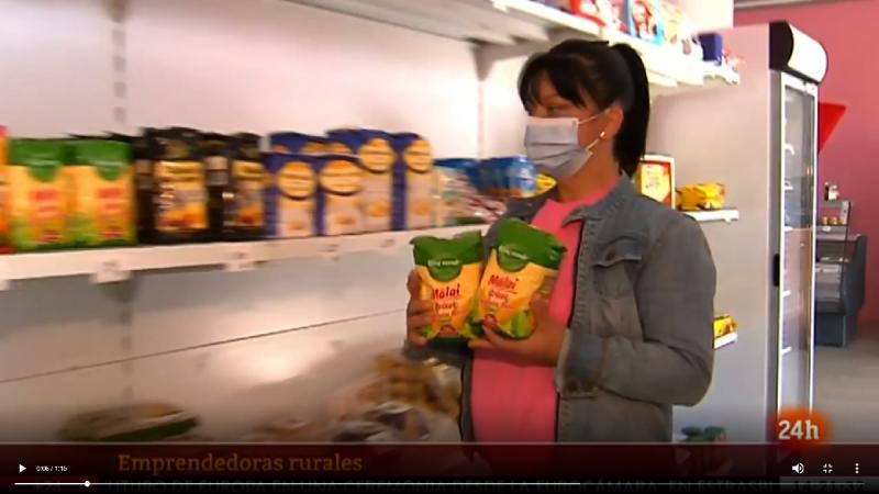 Mujeres emprendedoras en zonas rurales que se sobreponen a la pandemia