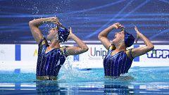 Iris Tió y Alisa Ozhogina, dúo técnico inspirado en el béisbol, en la final del Europeo