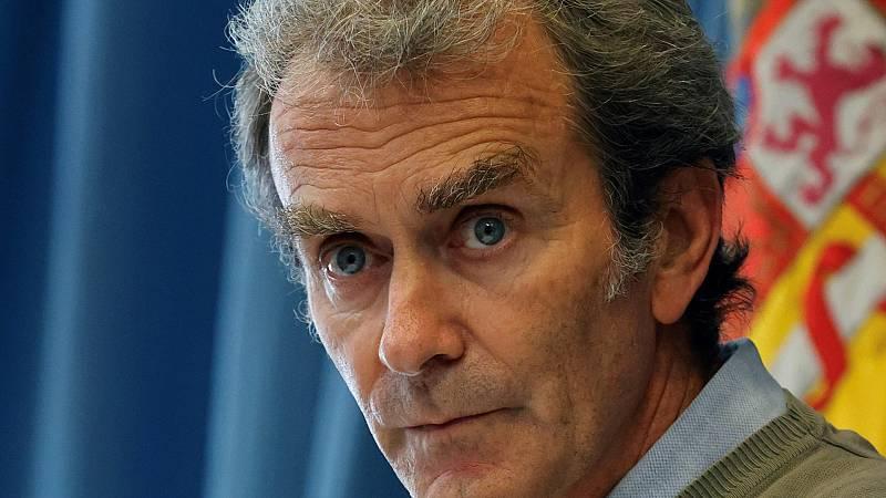 """Fernando Simón: """"No sé ni yo ni nadie en España lo que va a pasar en los próximos días"""""""