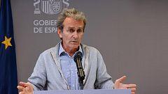 Especial informativo - Coronavirus. Comparecencia de Fernando Simón - 10/05/21