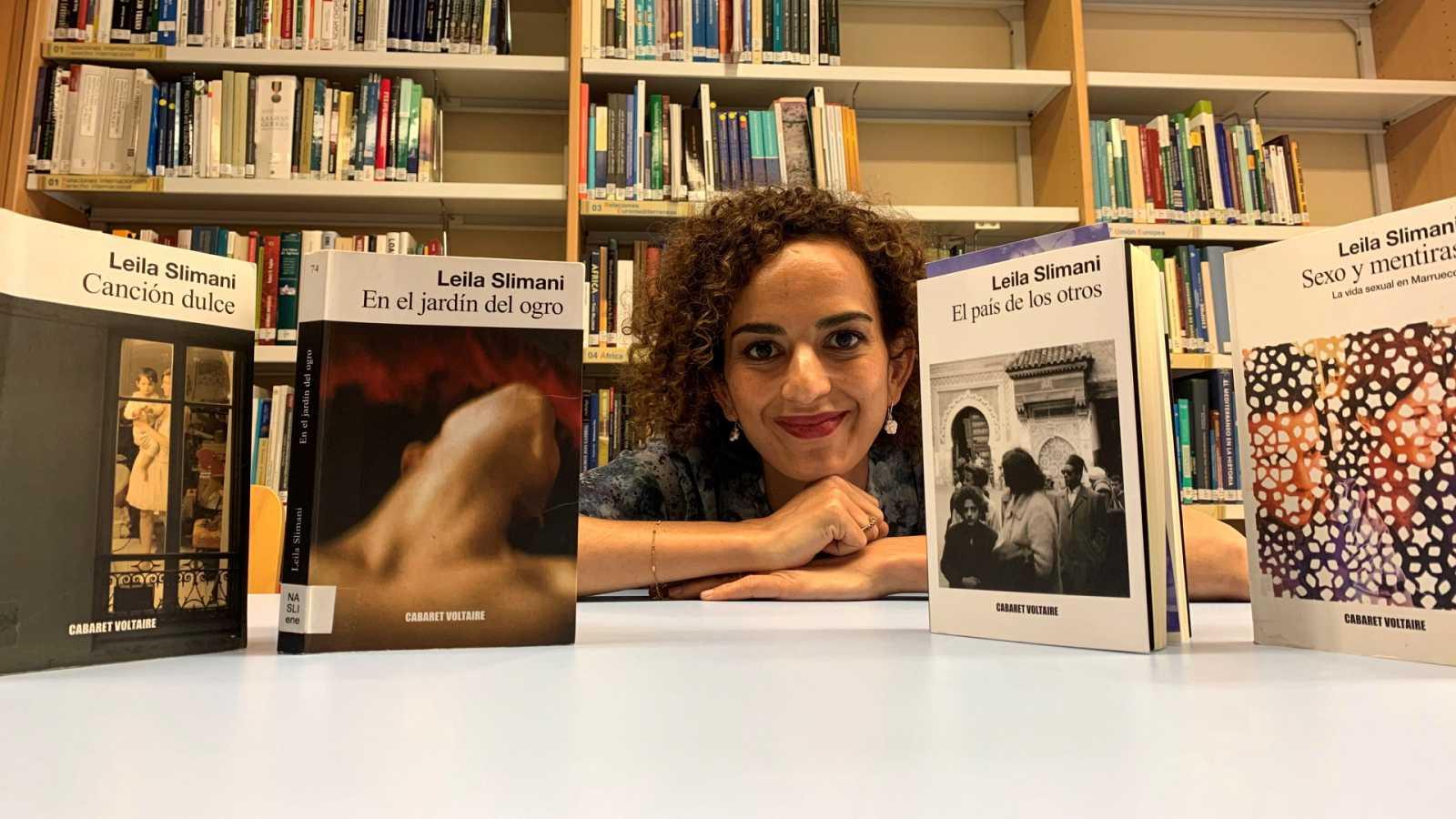 La escritora francomarroquí Leïla Slimani publica 'El país de los otros'