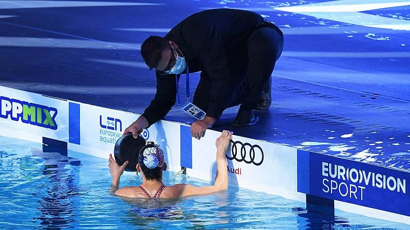 Suspendida una final del Europeo por problemas con los altavoces de la piscina