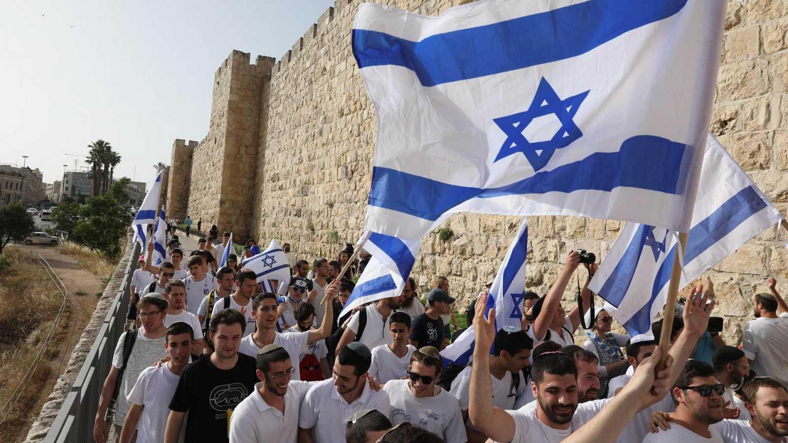 Los enfrentamientos causan el caos en el 'Día de Jerusalén'